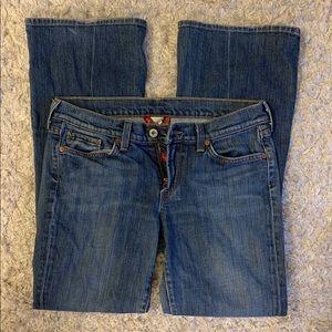Women's LUCKY BRAND bootcut jeans - 10 short